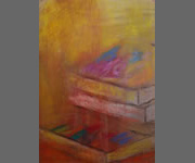 Pastel Boxs 1: 2011 | 41x29 Inches | Pastel On Paper