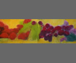 #3 Series 7 Version 6: 2014 | 22 X 64 Inches | Oil, Oil Stick On Paper