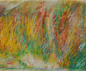 Lake: 1996 | 24x36 inches | Oil Stick on Paper